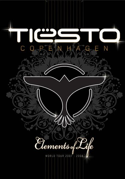 Tiesto - Elements Of Life World Tour: Copenhagen (2008) 2xCD