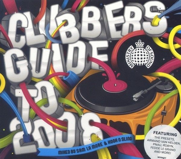 Ministry of Sound:  Club Files Vol. 3 and Clubbers Guide To 2008 (AU Edition)  4xCD