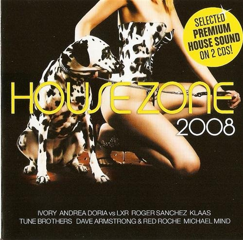VA - House Zone: In The V.I.P (2008) 2xCD