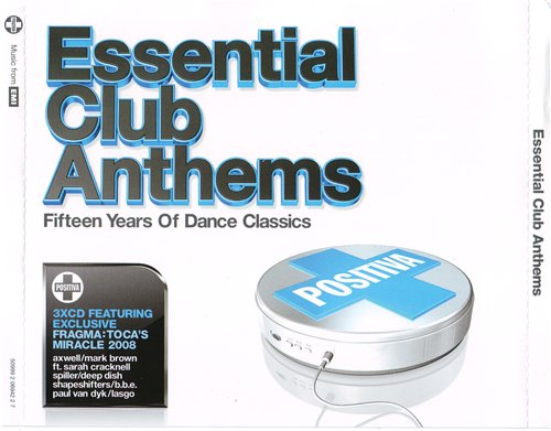 Essential Club Anthems: Fifteen Years of Dance Classics (2008) 3xCD