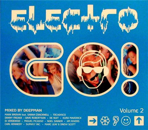 Electro GO! Vol.2 - Mixed by Deepman (2008)