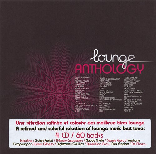 Lounge Anthology 2007 4xCD