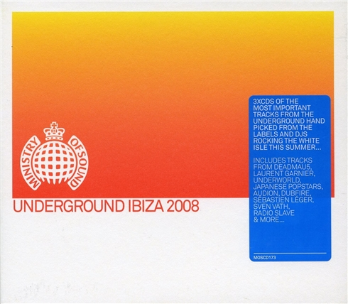 MOS: Underground Ibiza 2008 Mixed by Dipesh Parmar (2008) 3xCD