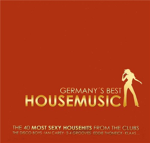Germanys Best Housemusic (2008) 2xCD