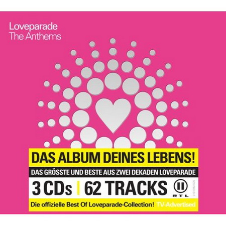 VA - Loveparade The Anthems (2008) 3xСD