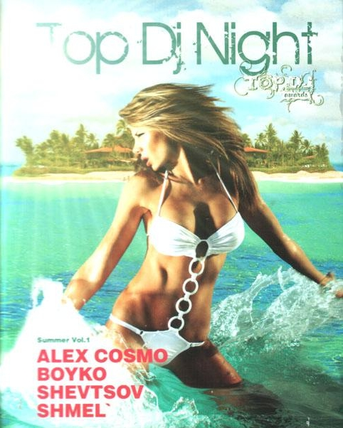 VA - Top Dj's Night: Alex Cosmo, Boyko, Shevtsov, Shmel (2008) 4xCD