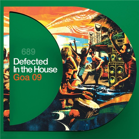 Defected In The House - Goa 09 (2008) 4xCD