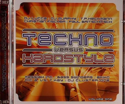 Techno vs Hardstyle Vol. One (2008) 2xCD