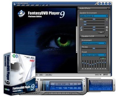 FantasyDVD Player Platinum 9.7.0.312 Portable Rus