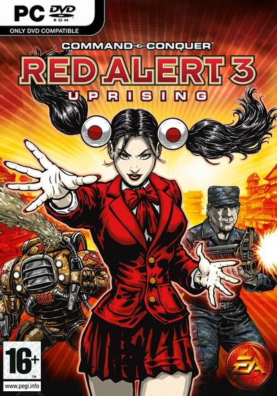 Command & Conquer: Red Alert 3 Uprising (2009)