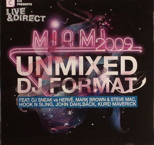 VA - CR2: Live & Direct Miami 2009 (Unmixed DJ Format) 2хCD