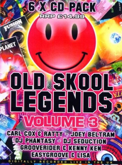 VA - Old Skool Legends Volume 3 (2009) 6хCD