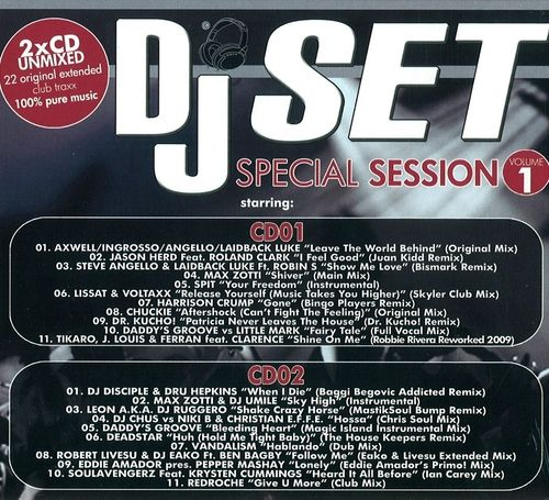 VA - DJ Set Special Session Vol.1 (2009) 2xCD