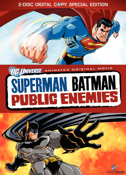 Супермен/Бэтмен: Враги общества / Superman/Batman: Public Enemies (2009) DVDRip