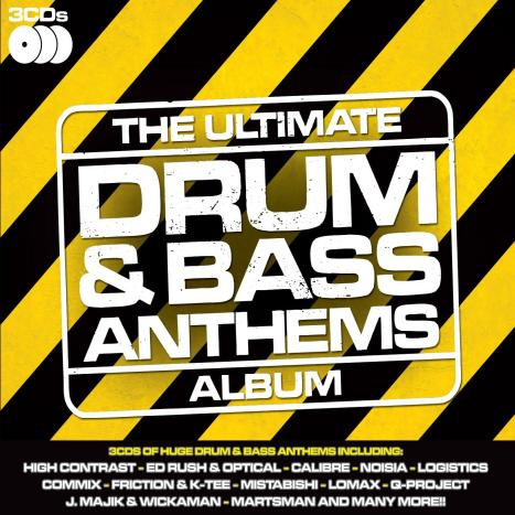 VA - Ultimate Drum & Bass Anthems (3CD) (2009)