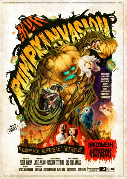 Монстры против овощей / Monsters vs Aliens: Mutant Pumpkins from Outer Space (2009) HDTVRip