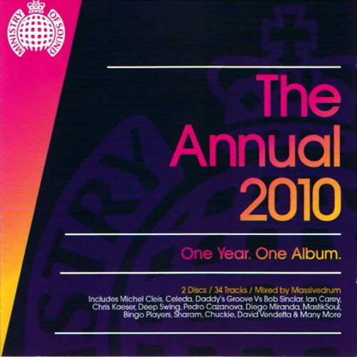 Ministry of Sound The Annual 2010: One Year One Album (Portuguese edit) (2010)