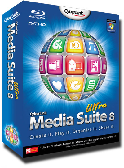 CyberLink Media Suite 8.0 Ultra