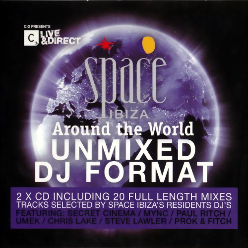VA - Space Ibiza - Around The World - Unmixed DJ Format (2010)