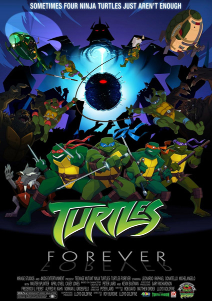 ��������� �������� / Turtles Forever (2009) DVDRip