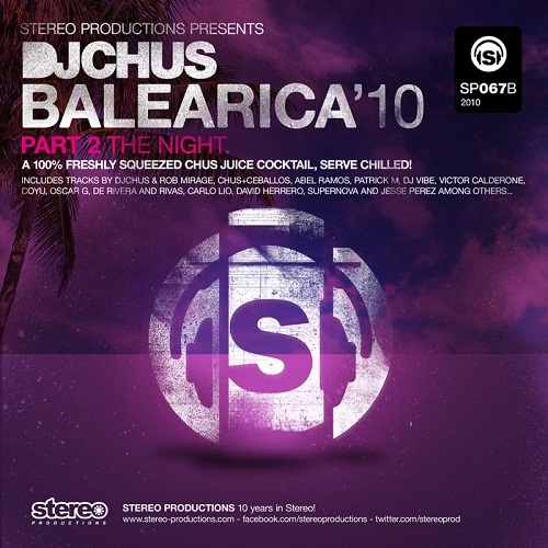 VA - DJ Chus Present Balearica 2010 Part 2 The Night (2010)