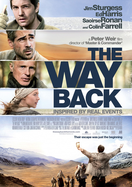 ���� ����� / The Way Back (2010) DVDRip