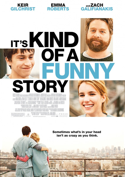 ��� ����� �������� ������� / It's Kind of a Funny Story (2010) DVDRip