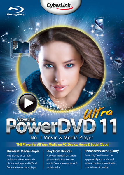 CyberLink PowerDVD Ultra 11 (2011)