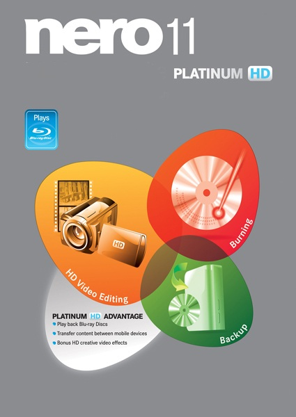 Nero 11 Platinum HD (2011)