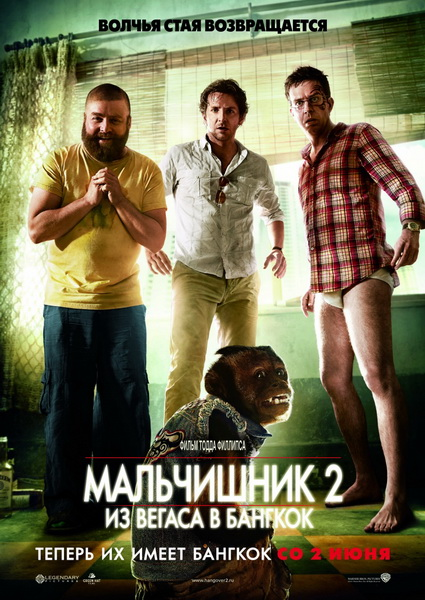 ���������� 2: �� ������ � ������� / The Hangover Part II (2011) DVDRip