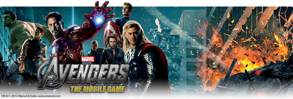 Avengers. The Mobile Game (Java)