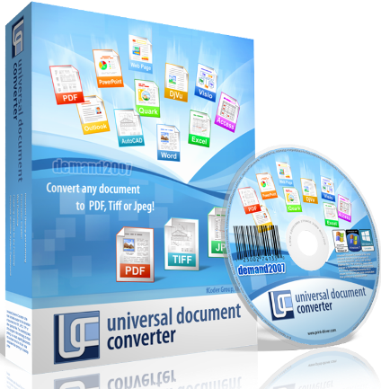 Universal Document Converter 5.6 build 1302.20150 (RUS) Виртуальный принтер
