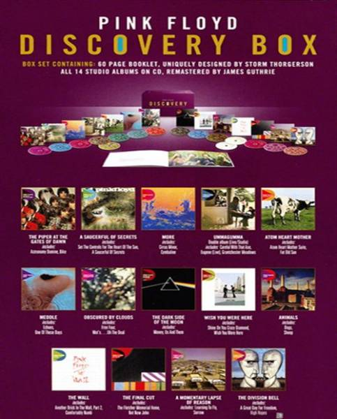 Pink Floyd - Discovery (16 CD Box Set EMI Remastered) (2011)