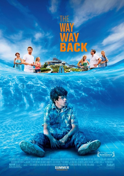 ������, ������ ����� / The Way Way Back (2013) HDRip