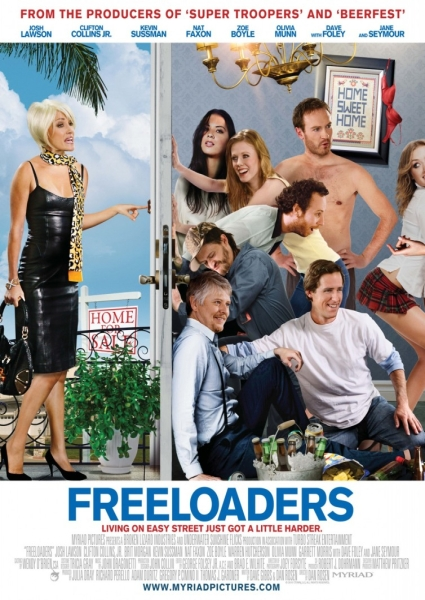 Нахлебники/ Freeloaders (2012) WEB-DLRip