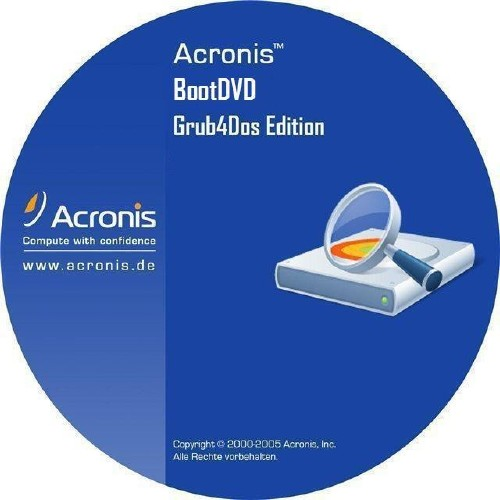 Acronis BootDVD 2013 Grub4Dos Edition v.15 / 13 in 1 (2013) RUS