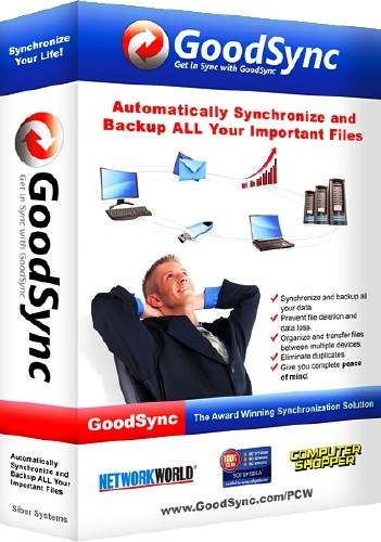 GoodSync Enterprise 9.7.3.3 (2014) ENG / RUS + Portable