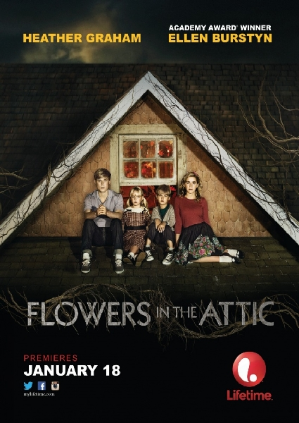 Цветы на чердаке / Flowers in the Attic (2014) WEB-DLRip