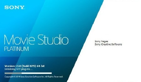 Sony Vegas Movie Studio Platinum 13.0 Build 879 RePack & Portable by Diakov