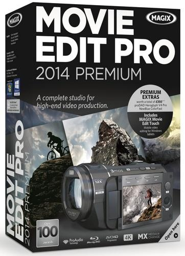 MAGIX Movie Edit Pro 2014 Premium 13.0.3.14 (ChingLiu) + Rus