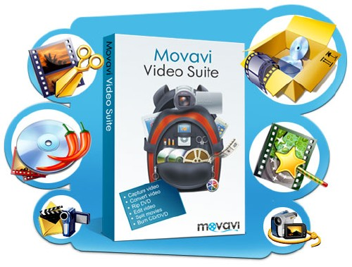 Movavi Video Suite 12.1.0 (ENG/RUS/2014)