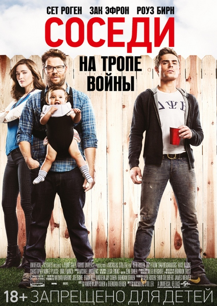 ������. �� ����� ����� / Neighbors (2014) CAMRip / WEB-DLRip / HDRip