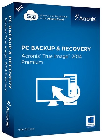 Acronis True Image 2014 Premium 17 Build 6673 + Acronis Disk Director 12.0.3219 BootCD