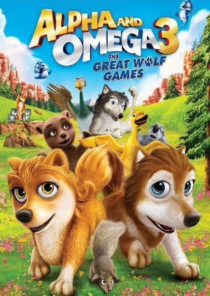 Альфа и Омега 3 / Alpha and Omega 3: The Great Wolf Games (2014) DVDRip