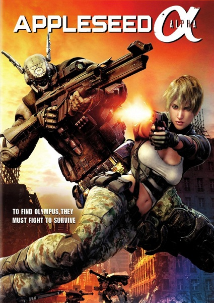 ������ ����� / Appleseed Alpha (2014) HDRip / BDRip 720p/1080p