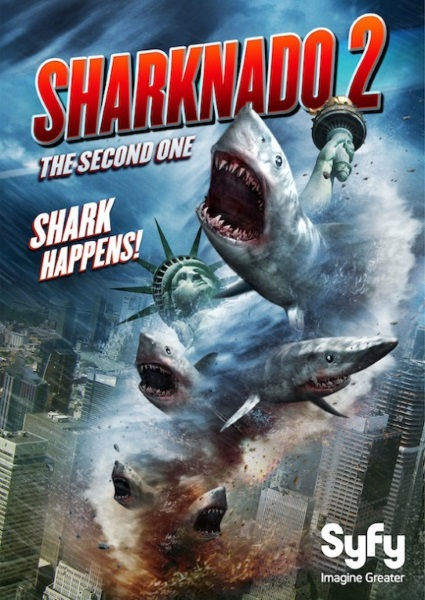 ������ ������� 2 / Sharknado 2: The Second One (2014) HDRip