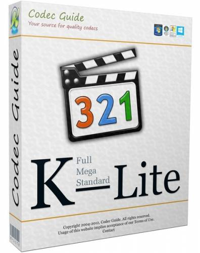 K-Lite Codec Pack 10.8.5 Mega/Full/Standard/Basic + Update (ENG/2014)