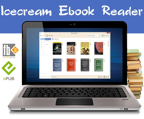 IceCream Ebook Reader 1.53 ML/Rus