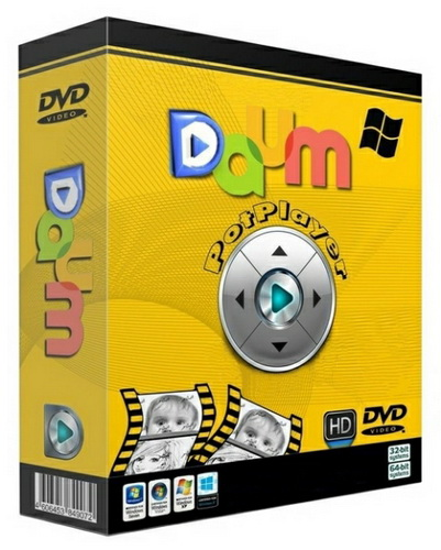 Daum PotPlayer 1.7.13963 Stable RePack/Portable by Diakov