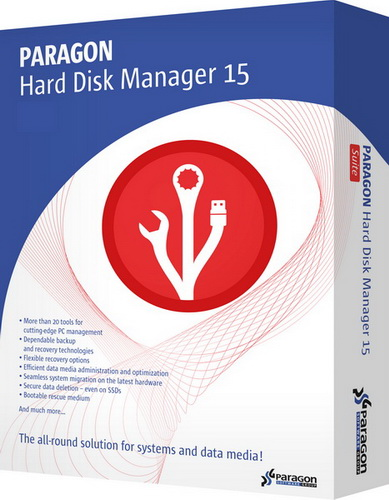 Paragon Hard Disk Manager 15 Pro 10.1.25.294 RePack by Diakov